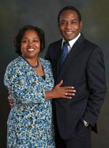 Dr Michael and Kay Johnson
